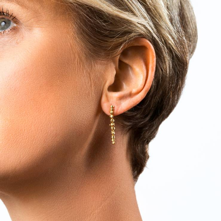Sleek and Flexible Ear Pendants